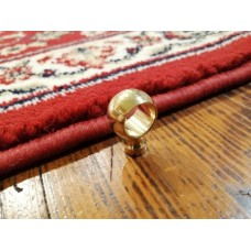 Brass support for round tube d. 10-12-14-16mm