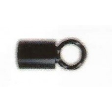 Finale with eyelet for cord handrail diam. 30mm black