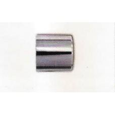 Eyelet end without eyelet for diam. 30 polished brass, satin nickel, chrome-plated