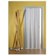 Plastic bellows doors