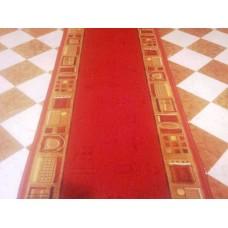 Runner rock  h 67 cm red