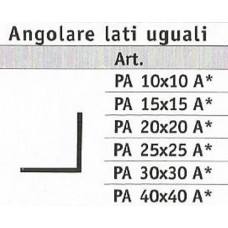 Aluminium Angular sides equal